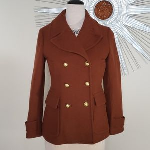 AMAZING J. CREW WOOL COAT SZ 10T